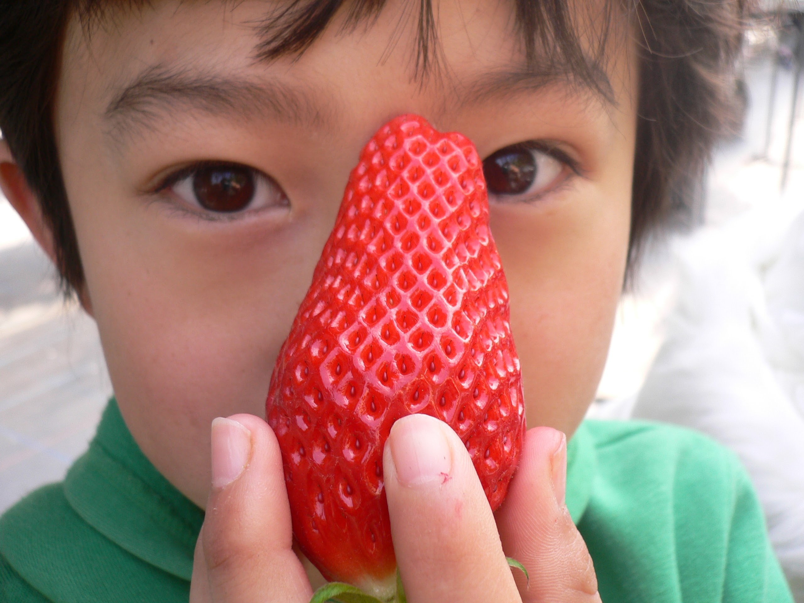 大きなイチゴ