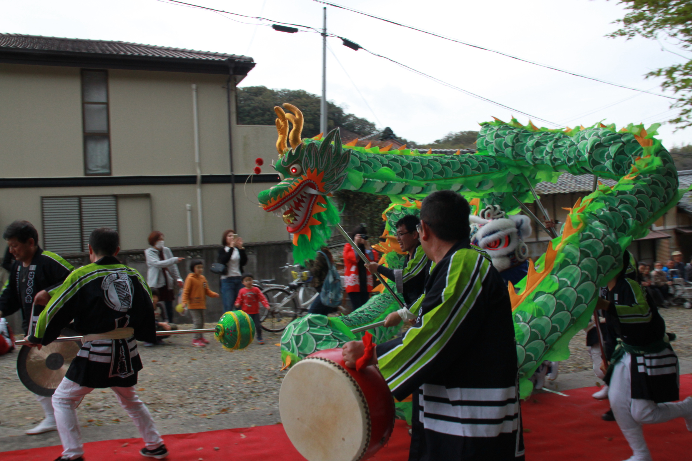 乙方熊野神社祭り