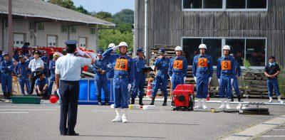 消防操法大会 ~日頃の訓練の成果を披露~