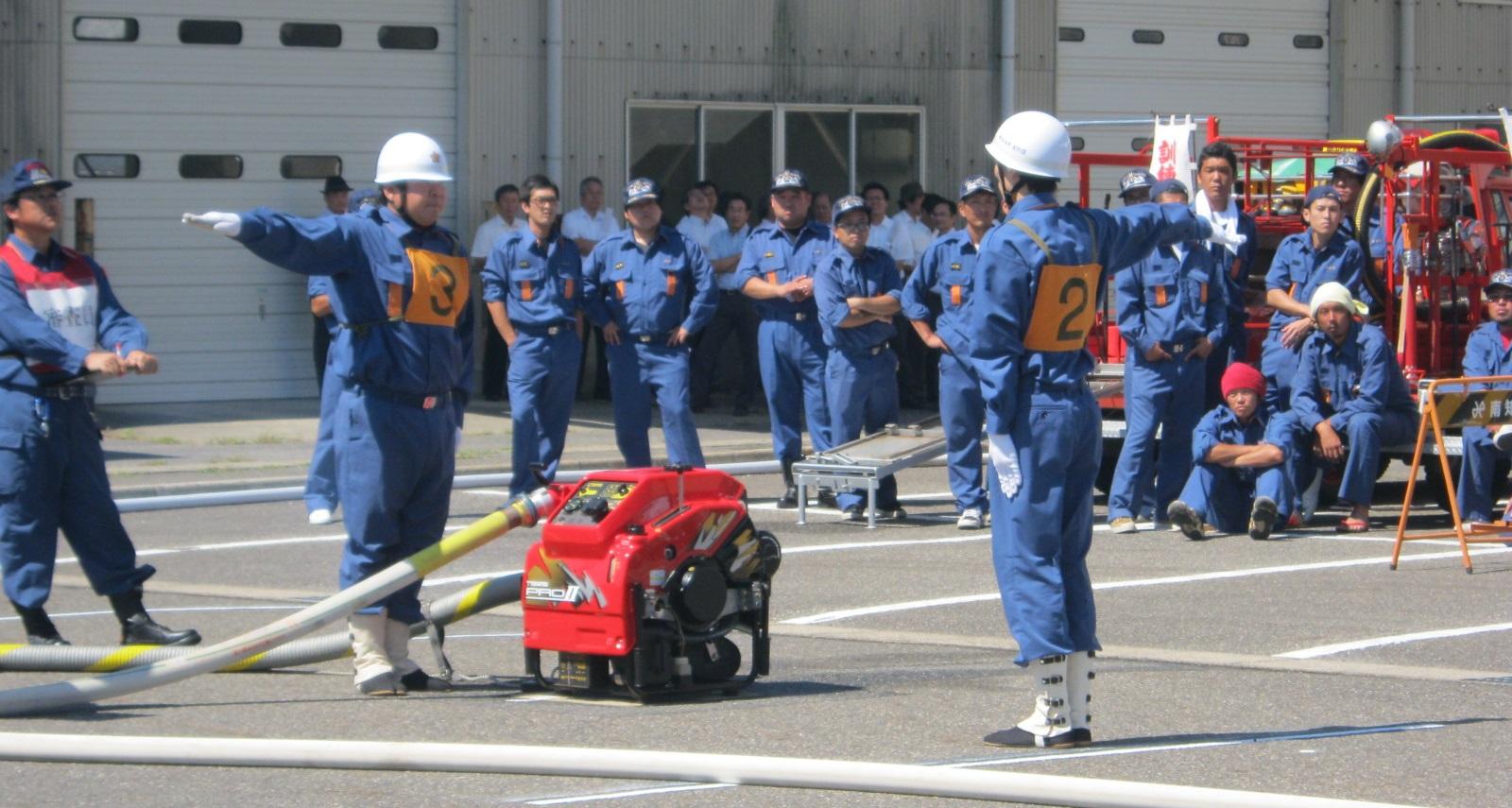 第46回南知多町消防団消防操法大会
