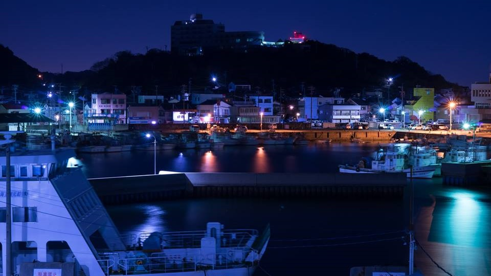 師崎港-夜景-