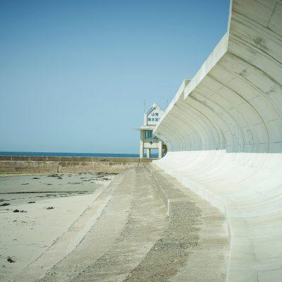 山海の防波堤