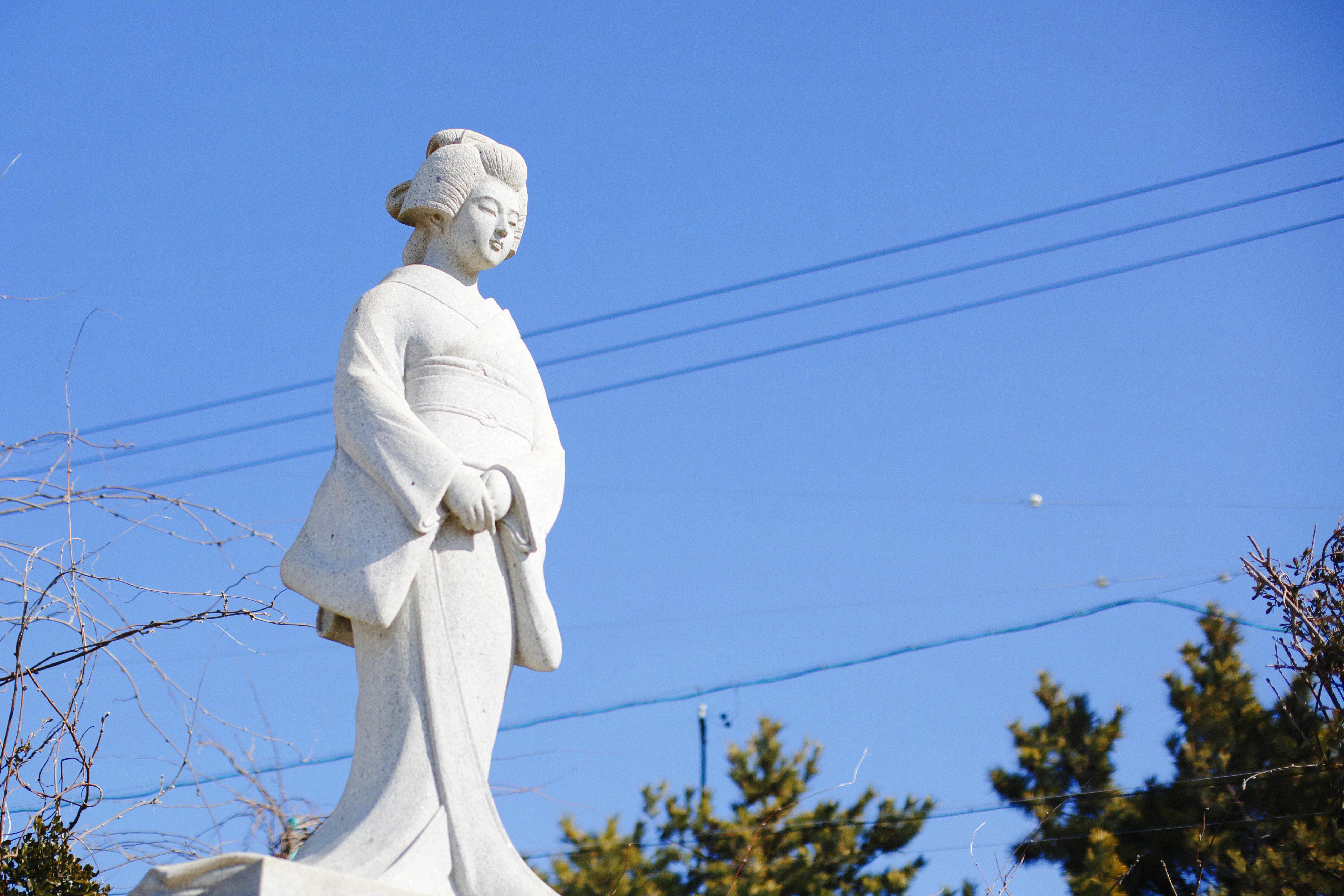 唐人お吉の像