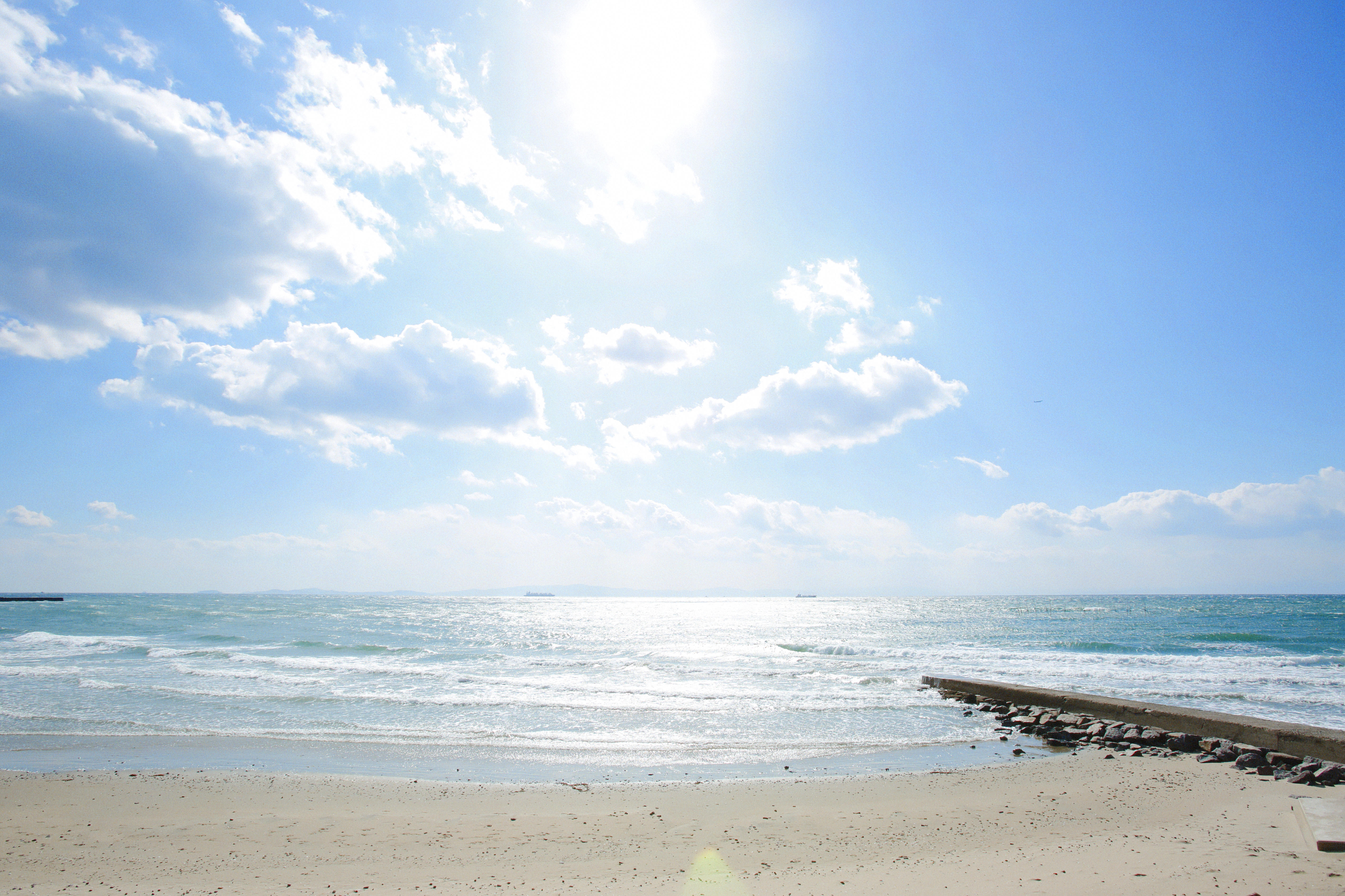 内海海水浴場「千鳥ヶ浜」