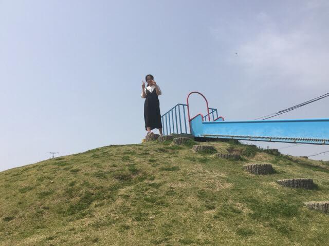 岡部公園滑り台